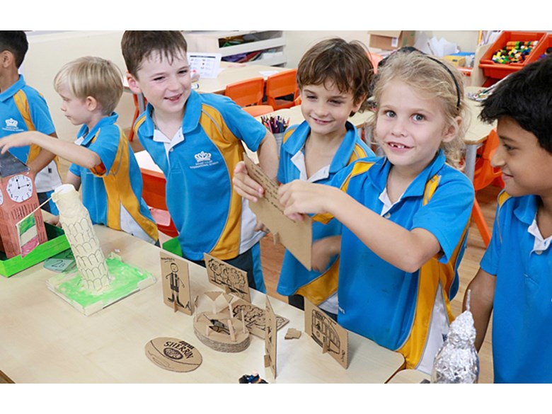 Year 2 Building Project Work