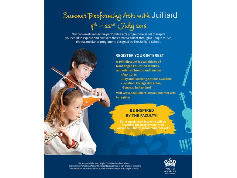 Juilliard Summer Camp