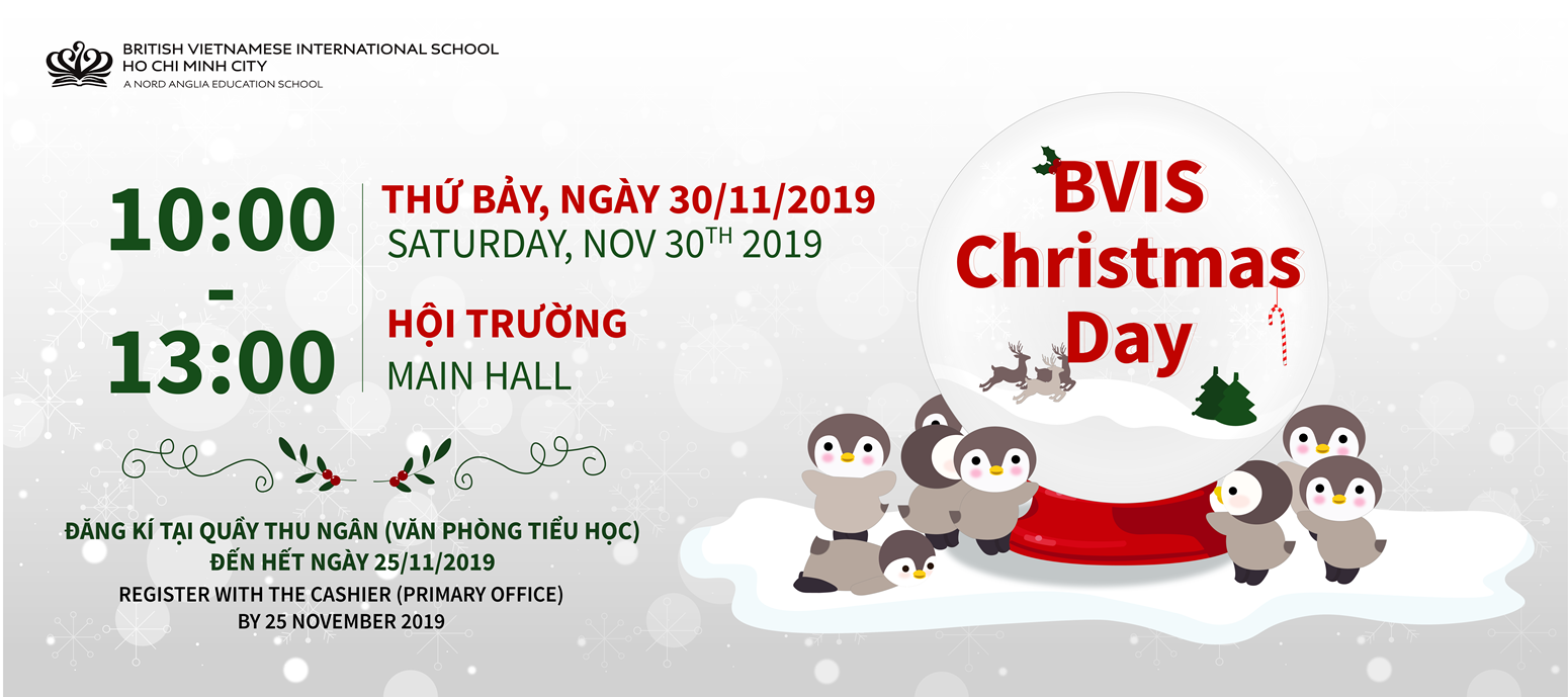 Christmas Fun Day BVIS HCMC 2019