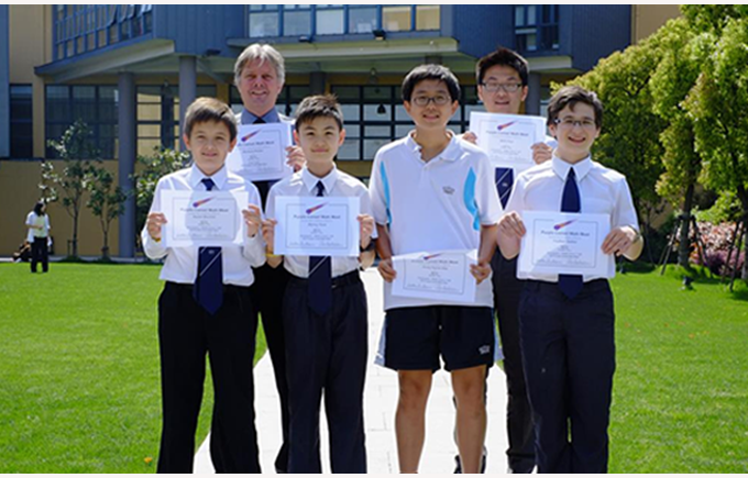 BISS Puxi come 3rd in China in Maths Competition