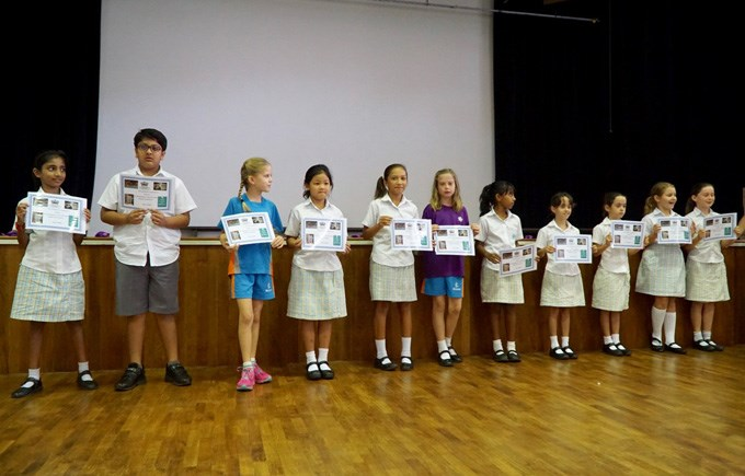 Week Beginning Assembly Certificates Presentation