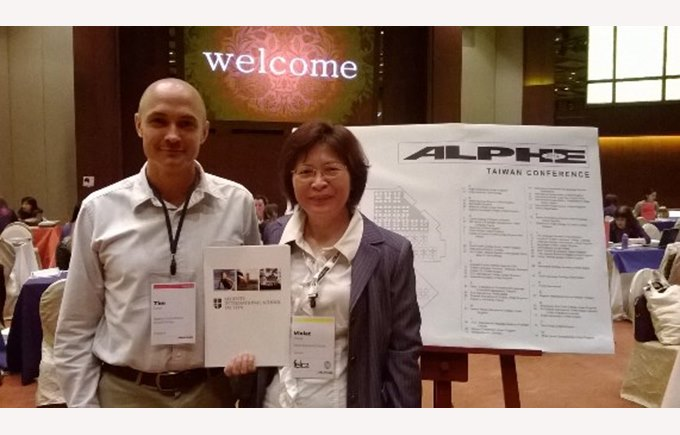 Tim Eaton attends Alphe Taiwan conference