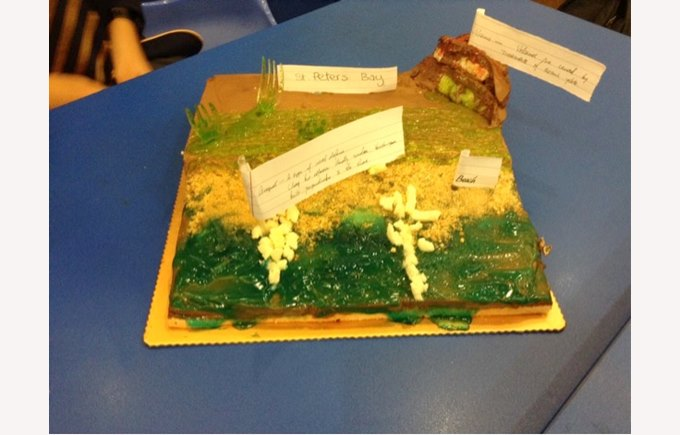 Geography Cake Competition 2015