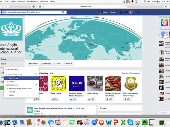 Stay connected fb