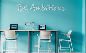 Be ambitious Panel image