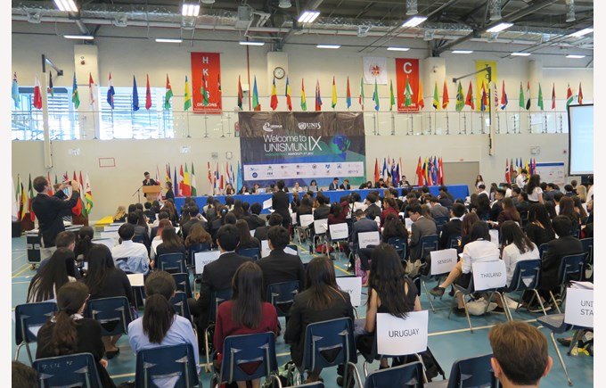 UNISMUN conference 2017 BIS HCMC 3