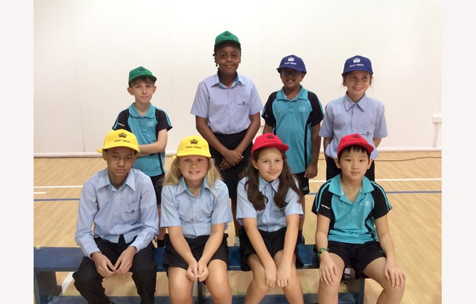 New House Captains from Year 6
