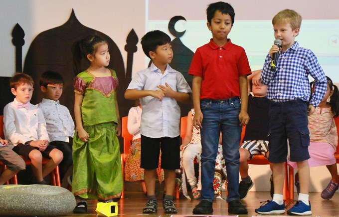 Lower Primary Assembly 2EN and 2HG Hari Raya Puasa