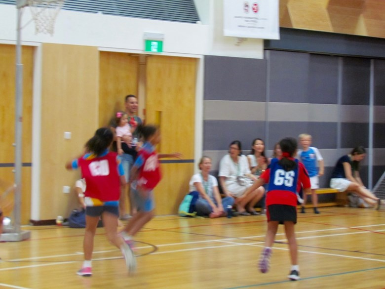 U9 Netball Team Participates in Annual Friendlies