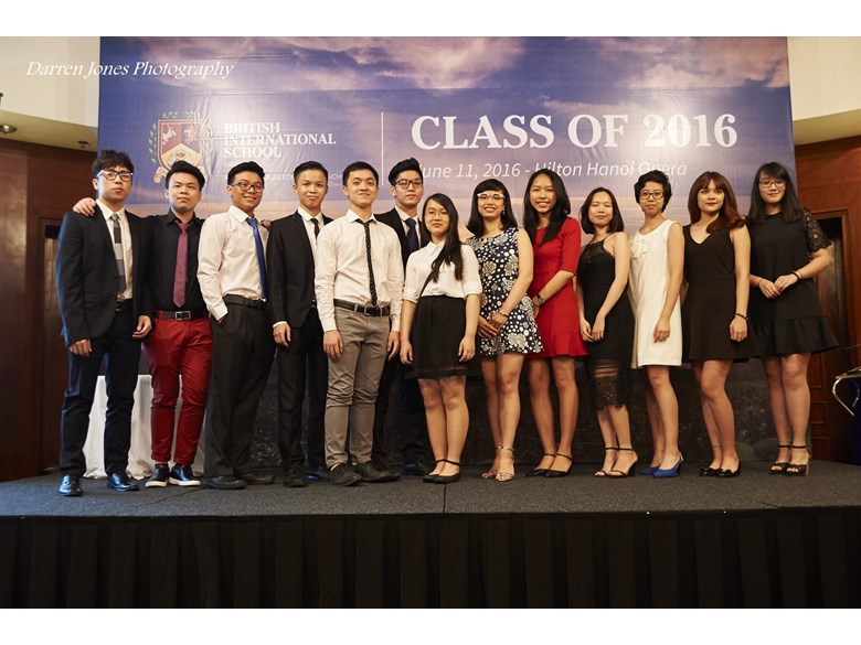 British International School Hanoi Year 13 Graduation Ceremony