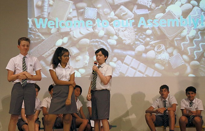 9SE Assembly on Cooperation and Making a Difference