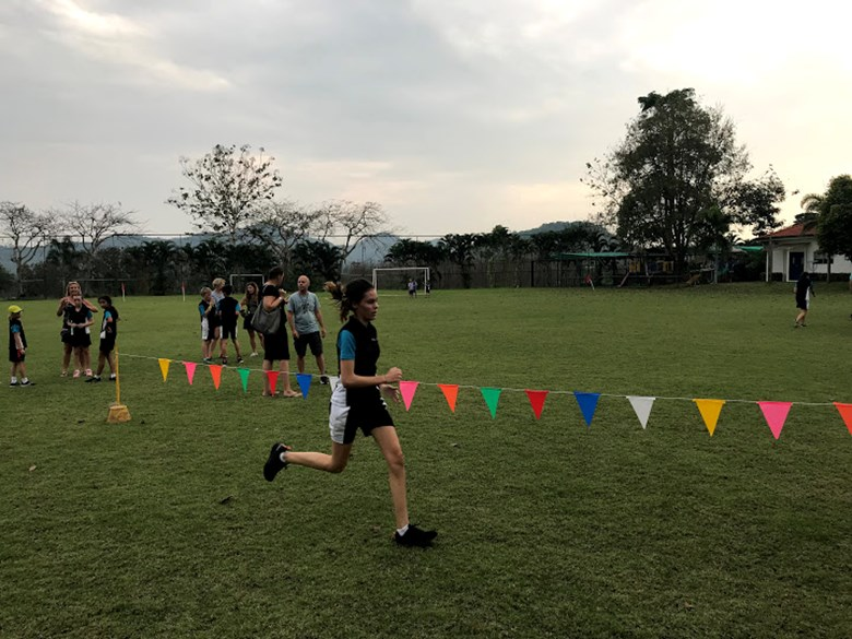 ESAC cross country competition