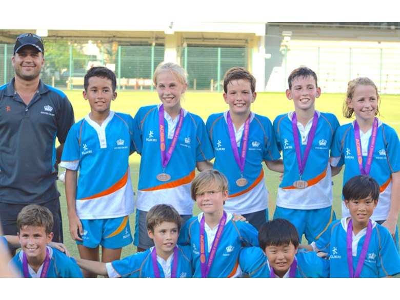 Under 11 Rugby Finals - DCIS Bronze medal