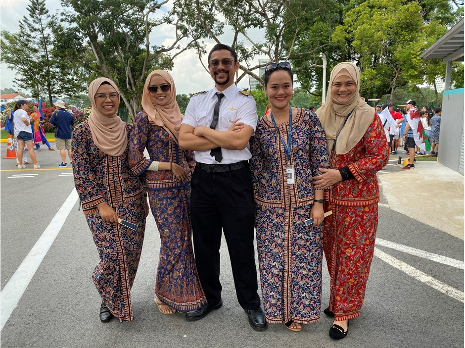 Dover Court International School UN Day 2019 Admin Singapore Airline Crew