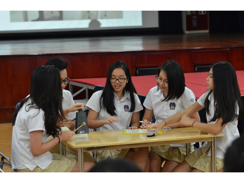 BIS Hanoi secondary students