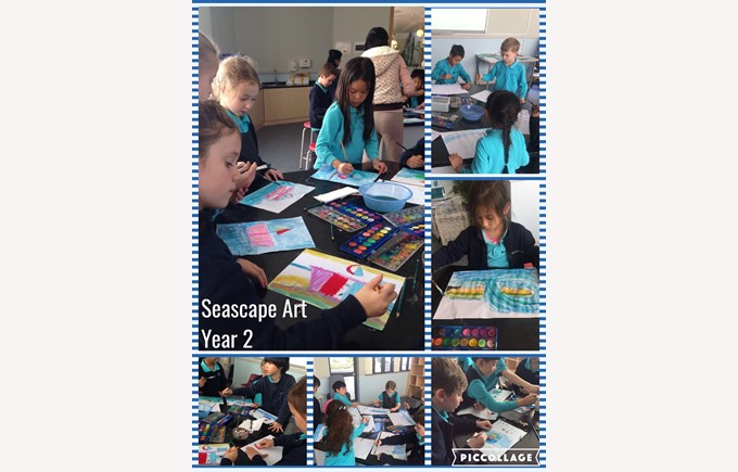 Seascape Art in Year 2