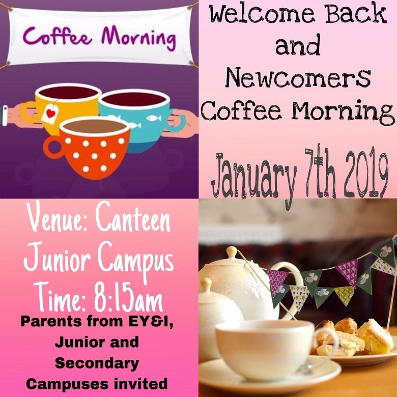 Welcome Back Coffee Morning