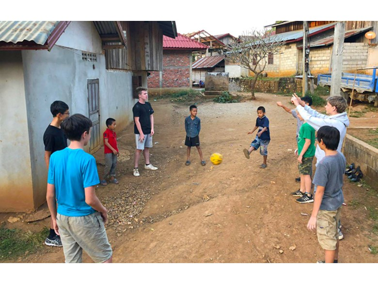 Year 9 Laos Trip 2018 Village Visit