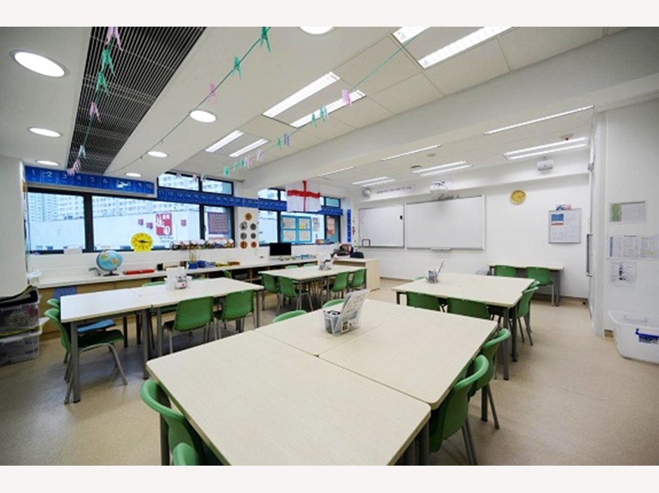 A typical classroom.