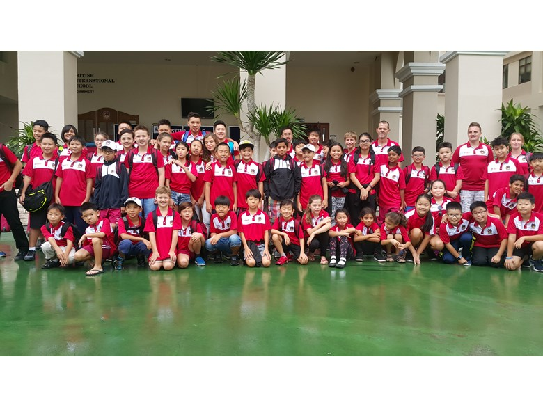 BIS HCMC Barracudas Compete in Hanoi 6