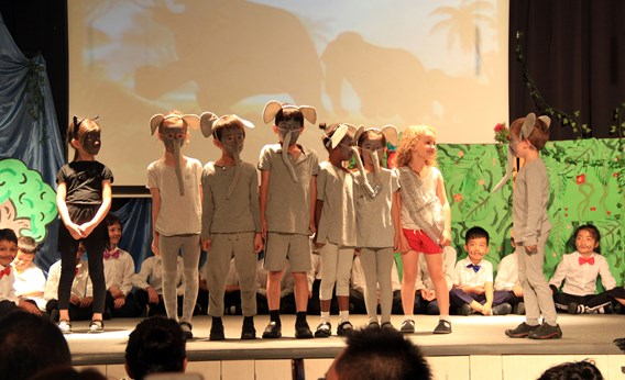 Y1 production The Jungle Book