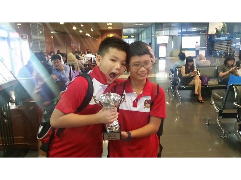 BIS HCMC Barracudas Compete in Hanoi 9