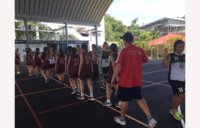 British International School Hanoi fobisia under13 games