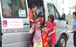 BVIS Hanoi Parents Essential Information Bus