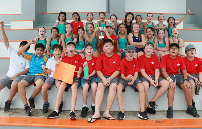 Swim Gala Year 6 Winners Jurong