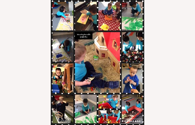 Our week of learning in Pre-Nursery 1