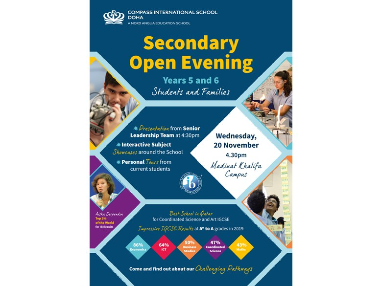 Secondary Open Evening MK