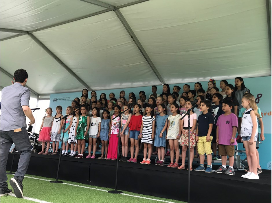 2018 Summer Fayre 03 - Y3&4 Choir