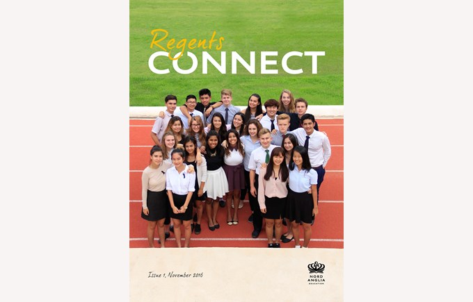 Inaugural issue of Connect Magazine
