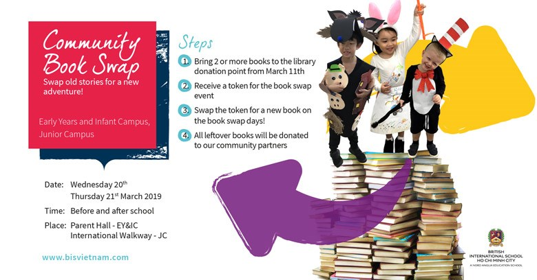 Community Book Swap - BIS HCMC