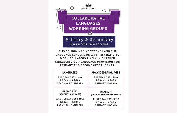 Collaborative Languages Working Groups