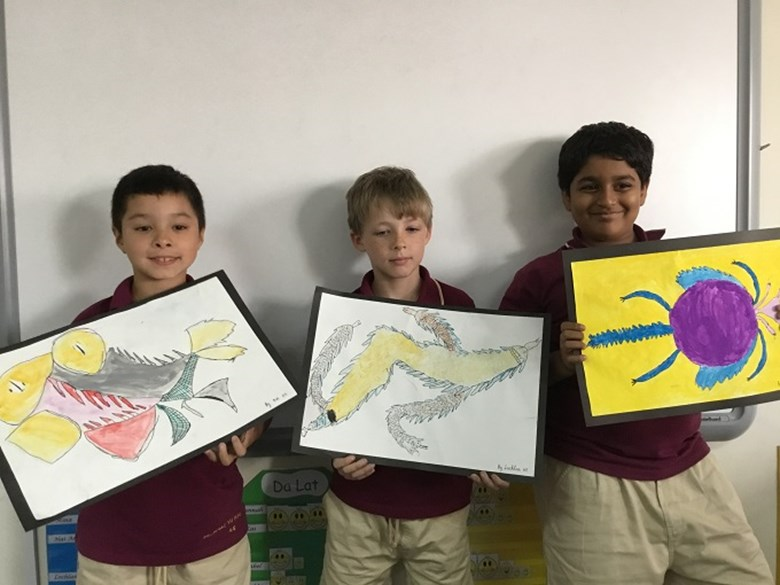 'Here be Dragons!' by Year 4 (4)