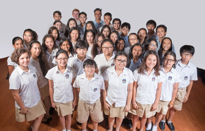 School Council at An Phu Secondary, British International School HCMC