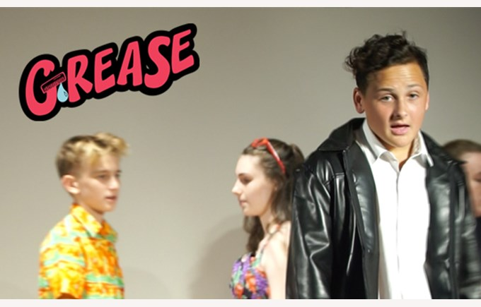 Introducing the Cast of Grease: Finley as Danny