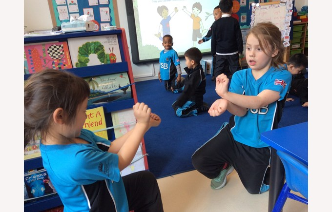 Year 1 Learning Positional and Directional Vocabulary