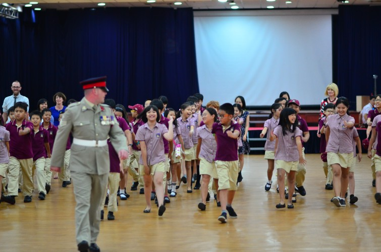 British International School Remembrance Day
