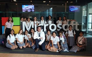 Dover Court International School Singapore ICT TRip to DigiGirlz at Microsoft