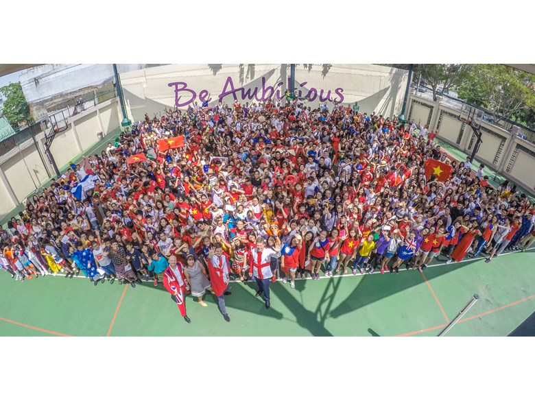International Day Whole School Photo Secondary BIS HCMC