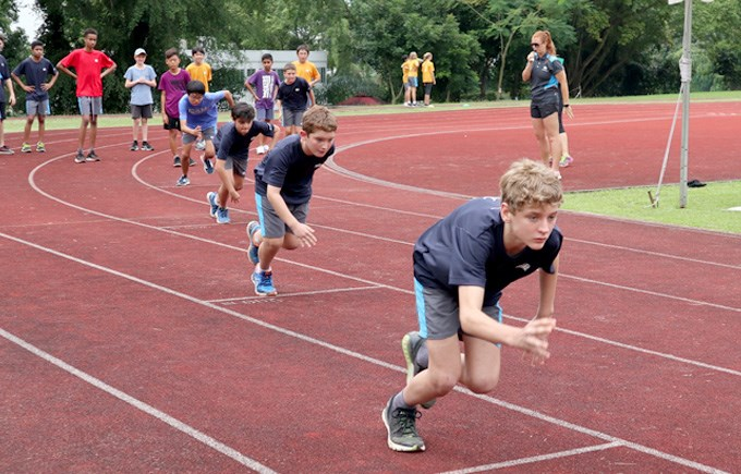 Secondary School Sports Day