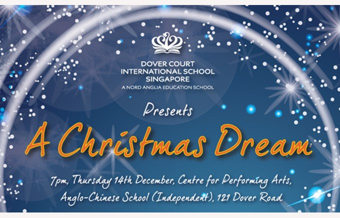 DCIS Christmas Production 2017 'A Christmas Dream' Poster