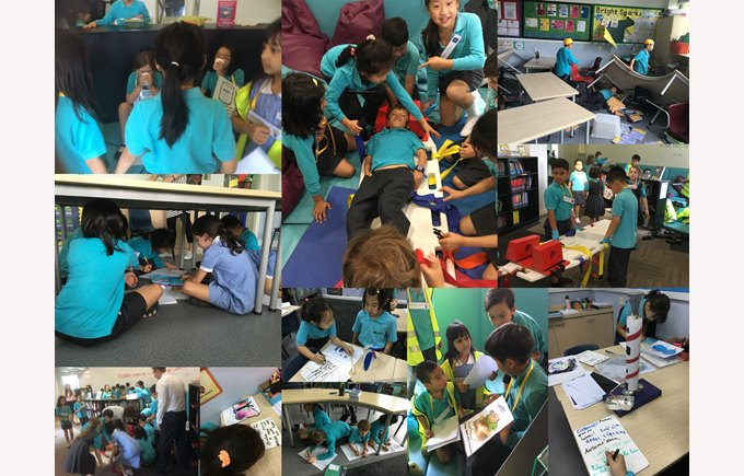 Year 3 becomes a disaster zone!
