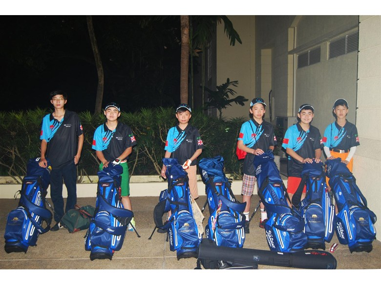 Golf team Mar 2016