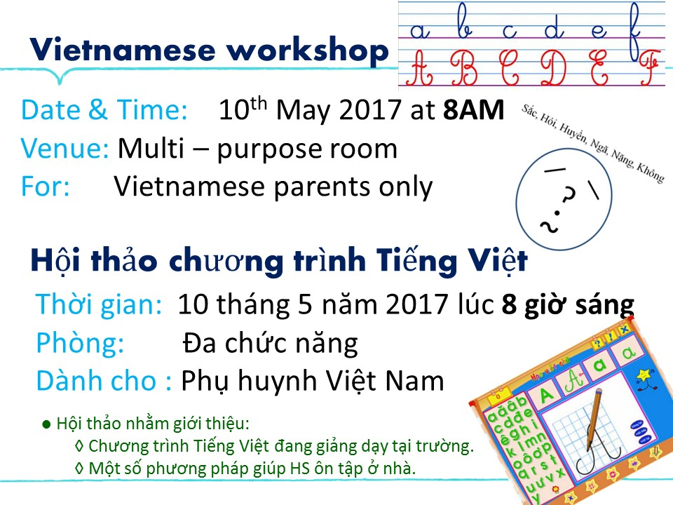 10.05 Vietnamese workshop