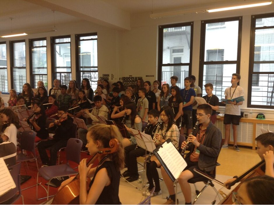 Global Orchestra Summer School 2015 Trip