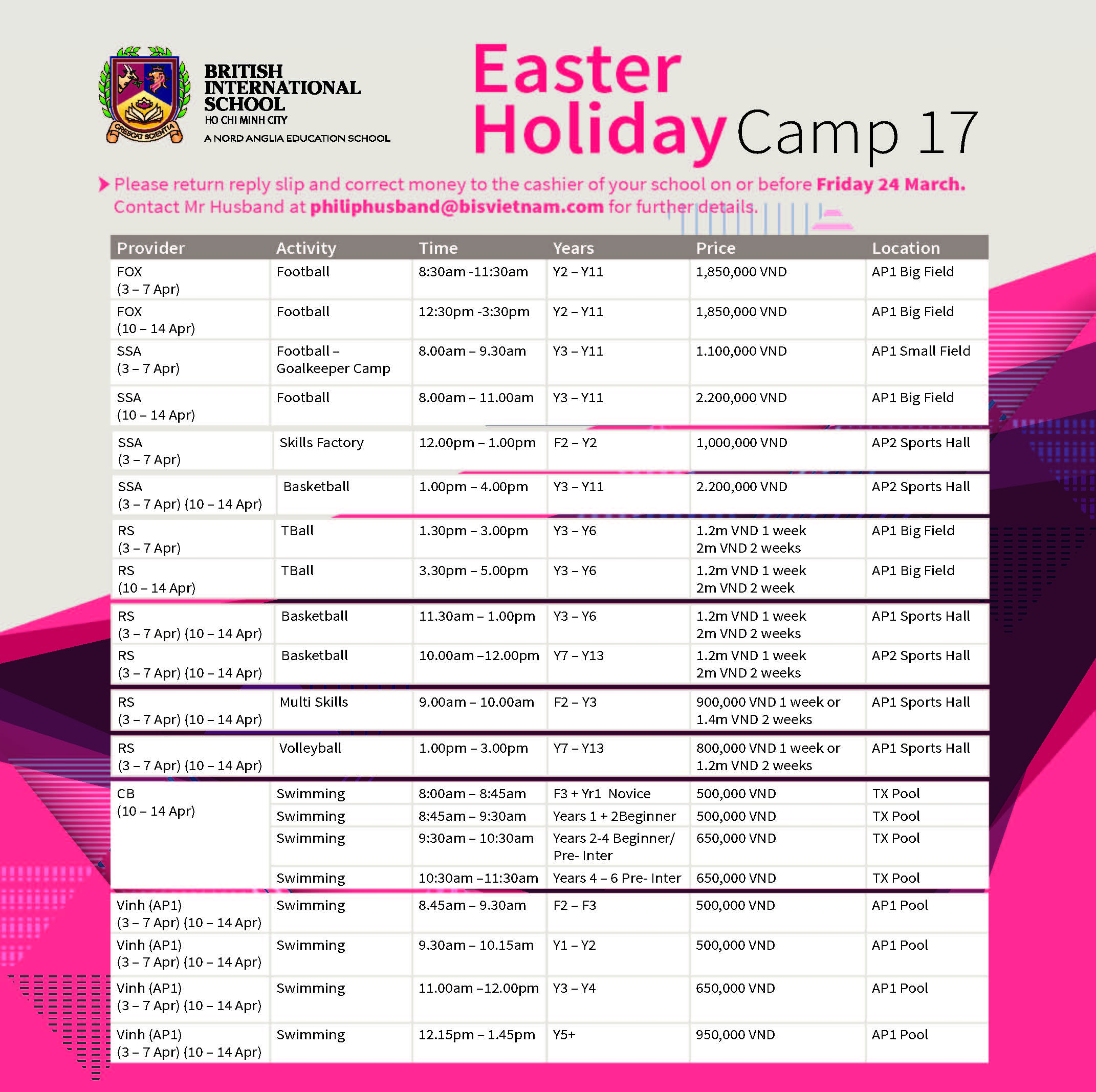 Easter Holiday Camp 16_AP1