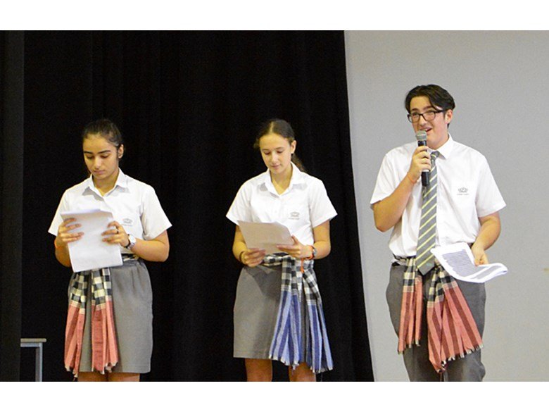Years 8 and 9 Laos Trip Assembly Presentation